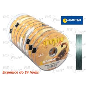 Albastar® Šňůra návazcová Albastar Scorpion 0,30 mm