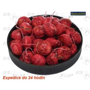 Semančin Boilies rohlíkový - Jahoda 8 mm