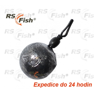 RS Fish® Olovo Drop Shot - kulička 15,0 g