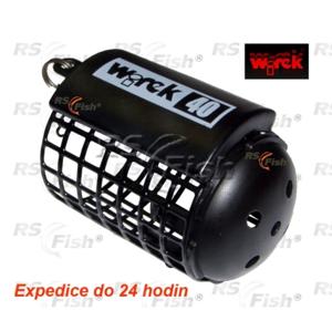 Wirek® Zátěž krmítko feederové Wirek - kulaté se dnem 40 g