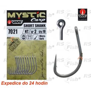 VMC® Háček VMC Mystic Carp Short Shank 7021 8
