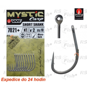 VMC® Háček VMC Mystic Carp Short Shank 7021+ 4