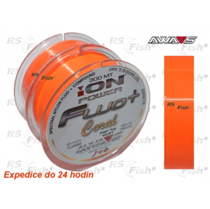 Awa-S® Vlasec Awa-S ION Power Fluo Coral 0,331 mm