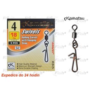 Kamatsu® Obratlík s rychle výměnnou karabinou Kamatsu K-3018 8