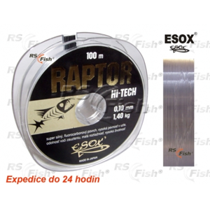 Esox® Vlasec Esox Raptor 100 m 0,14 mm