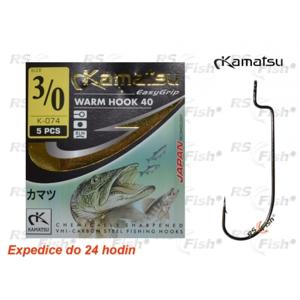 Kamatsu® Háček Kamatsu Warm 40 2/0
