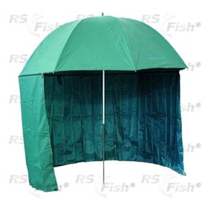 Deštník s bočnicí JSA 2,5 m s PVC zátěrem