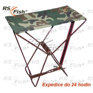 RS Fish® Stolička rybářská RS Fish - skládací velká