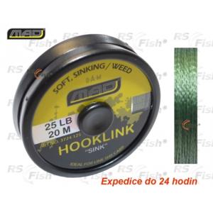 DAM® Šňůra návazcová MAD Hooklink Sinking - tráva