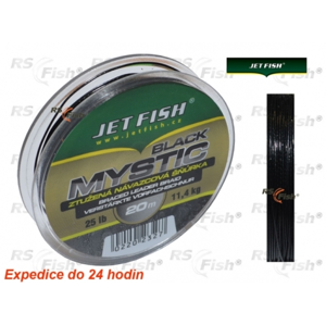 Jet Fish® Šňůra návazcová Jet Fish Mystic Black