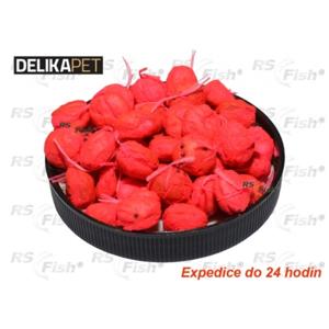 Delikapet Boilies rohlíkový Fluo - Jahoda
