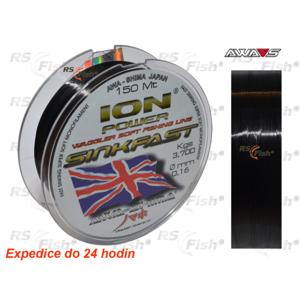 Awa-S® Vlasec Awa-S ION Power Match Sinkfast 150 m 0,140 mm