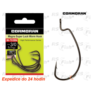 Cormoran® Háček Cormoran Magna Super Lock Worm W-793BN 4/0 - 73-793BN4-0