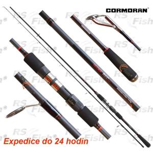 Cormoran® Prut Cormoran Ticora Red Spin 240 cm - 5 - 25 g