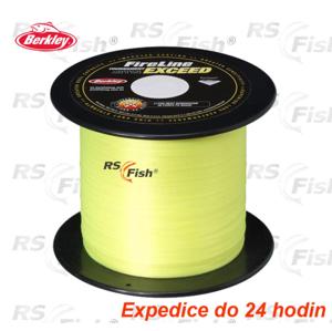 Berkley® Šňůra Berkley Fireline Exceed Fluo Yellow 0,17 mm