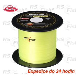 Berkley® Šňůra Berkley Fireline Exceed Fluo Yellow 0,25 mm
