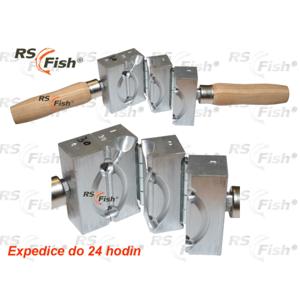 RS Fish® Forma na odlévání zátěží - krmítko s trubičkou Ø 4 mm 30,0 g