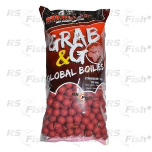 Starbaits® Boilies Starbaits GRAB & GO Jahoda - 2,5 kg