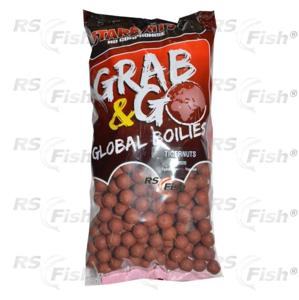 Starbaits® Boilies Starbaits GRAB & GO Tygří Ořech - 2,5 kg