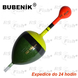 Bubeník® Splávek Bubeník SD - průběžný 14,0 g - SD307