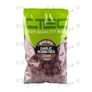 SPRO® Boilies SPRO CTEC Česnek / Robin Red 1 kg