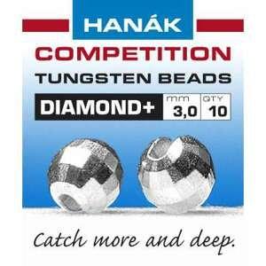 Hanák tungstenové hlavičky DIAMOND stříbrné 20ks průměr: 3mm