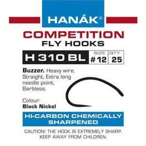 Muškařské háčky Hanák H 310 BL 25ks velikost: 12