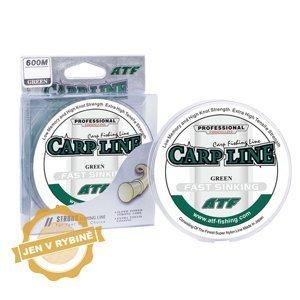 ATF Carp line 600m green Průměr: 0,25mm