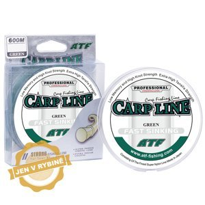 ATF Carp line 300m green Průměr: 0,28mm