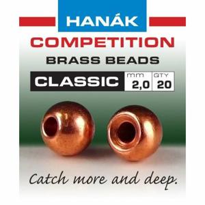 Hanák klasické mosazné hlavičky Měděné 2.4mm