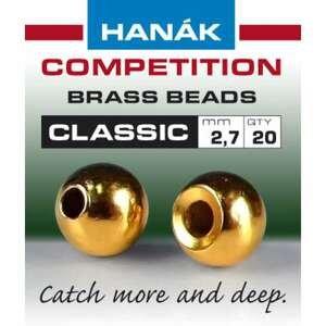 Hanák klasické mosazné hlavičky Zlaté 2.4mm
