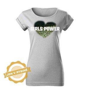 Akce_Dámské tričko Girls Power Zander velikost: XL
