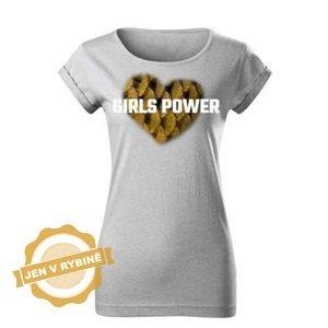 Akce_Dámské tričko Girls Power Carp velikost: XXL