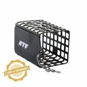 ATF Feederové krmítko hranaté s obratlíkem malé 5 - 40g hmotnost: 40g