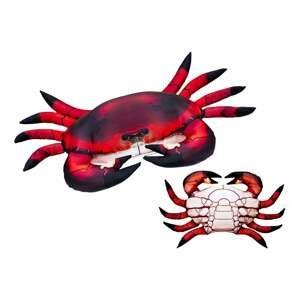 Gaby polštář Krab červený 60 cm