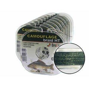 Broline Šňůrka Camouflage Braid10 m 0,34 mm 22,3 kg