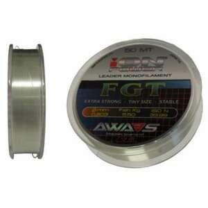 AWA-Shima rybářský vlasec iON POWER FGT - 50m nosnost: 2 kg, průměr: 0,105mm