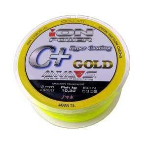 Awa-Shima rybářský vlasec ION POWER C+Hyper Casting GOLD 1000m nosnost: 8.45Kg, průměr: 0.261mm