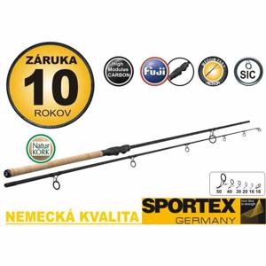 Kaprový prut Sportex PURISTA Stalker - dvoudílný 2,75lbs / 337cm / hmotnost 252g