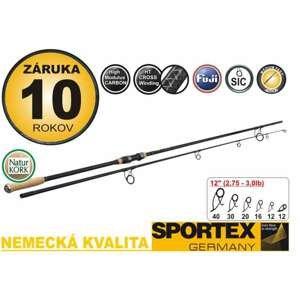 Kaprový prut Sportex Paragon Carp Old School 2,75lbs,366cm, dvojdílny, korek