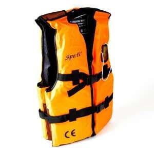 Vesta plovoucí oranžová s píšťalkou Varianta: velikost M