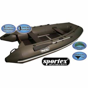 Sportex člun Shelf pevná podlaha se středovým kýlem 330cm šedý