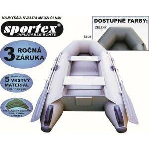 SPORTEX nafukovací čluny SHELF 230 - lamelová podlaha Šedý