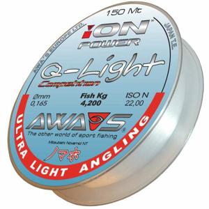 AWA'S vlasec ION Power Q-Light Competion 150m průměr: 0,148mm