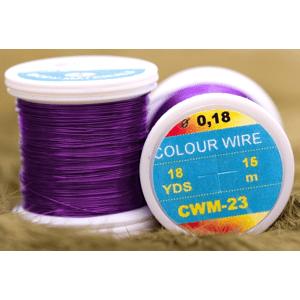 Color Wire 0,09mm 21,6m Zlatý