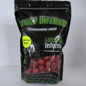 Carp Inferno Boilies Nutra line 20 mm 1 kg Barva: žlutozelená, aroma: Banán Oliheň
