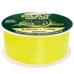 Climax Vlasec CULT Carp Line 600m Fluo-žlutá Průměr: 0,34mm