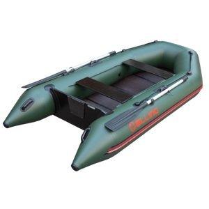 Elling Člun Forsag 290 s Pevnou Skládací Podlahou Zelený