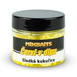 Mikbaits Červi v dipu 50ml - Sladká kukuřice
