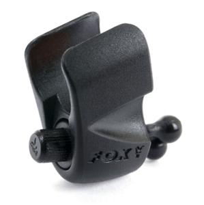 Fox Klip na vlasec Black Label Adjustable Rod Clip